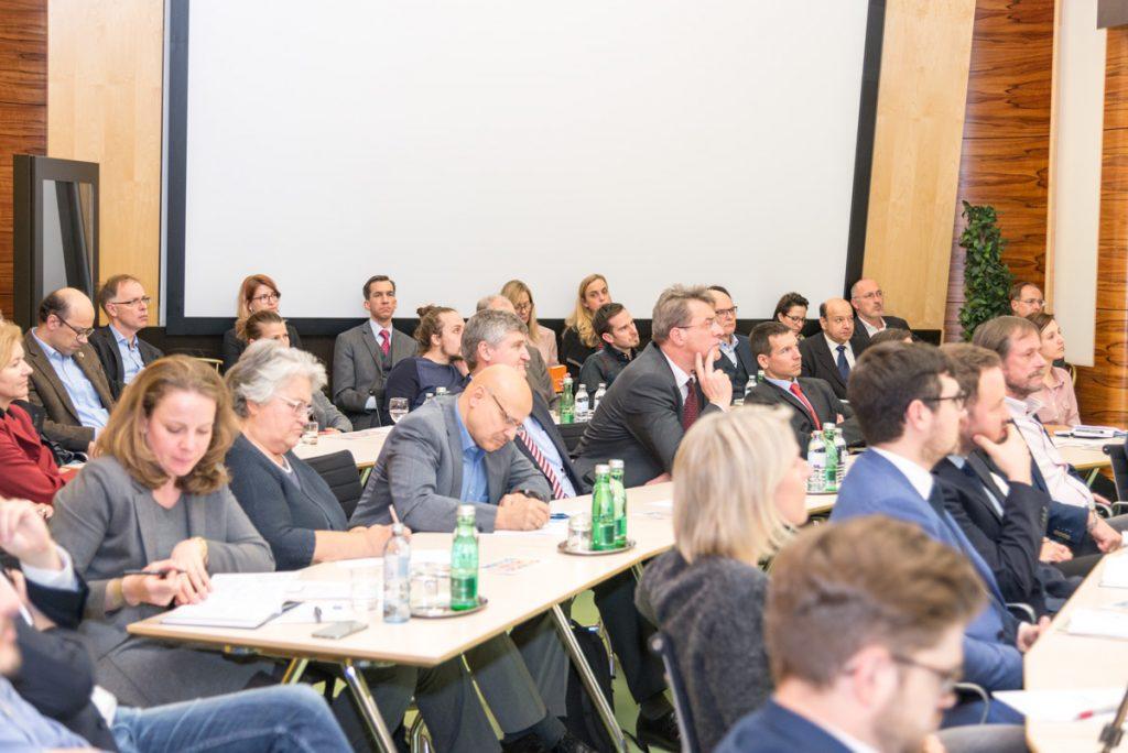Veranstaltung Global Goals for Business in der Industriellenvereinung am 24. Jänner 2018.
