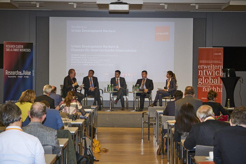 corporAID Conference 2018: Urban Development Markets (6, November 2018)