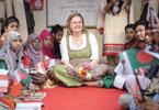 Bangladesch: Außenministerin Karin Kneissl beim Besuch eines Entwicklungsprojekts