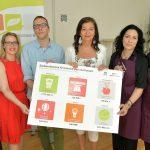 Saubere Gewinne vermeldet Oeko Business Wien. Umweltstadträtin Ulli Sima (3.v.r.) freut es.