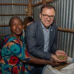 On location in Uganda: Café + Co-CEO Fritz Kaltenegger