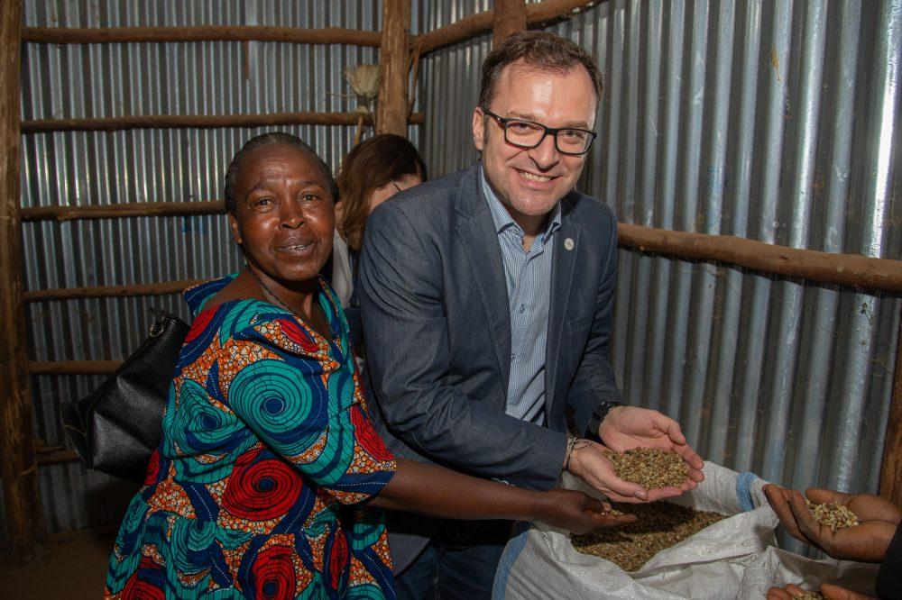 Vor Ort in Uganda: Café+Co-GF Fritz Kaltenegger