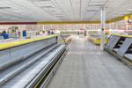 Verwaist supermarket shelves in Caracas