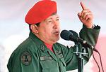 Only the people Nicolás Maduro (o.) And predecessor Hugo Chávez are hungry
