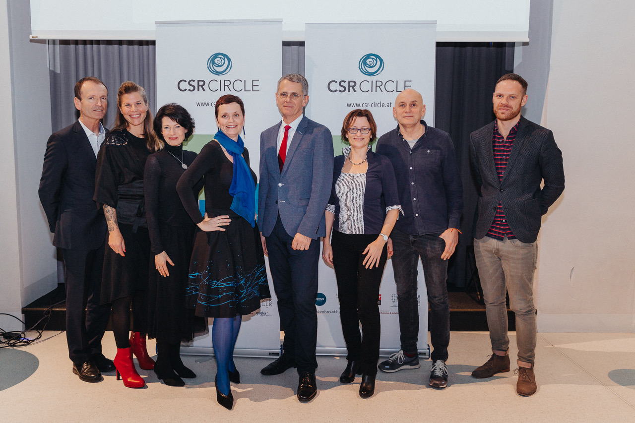 Vorstand des CSR-Circle mit André Martinuzzi