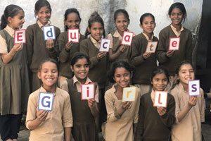 Chancen durch Bildung Educate Girls arbeitet in Indien in 13.000Dörfern.