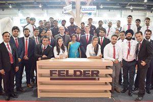 Wachstumsmarkt – Felder ist seit mehr als zwanzig Jahren in Indien tätig. Heute verfügt das Unternehmen hier über vier Niederlassungen und rund 90Mitarbeiter.