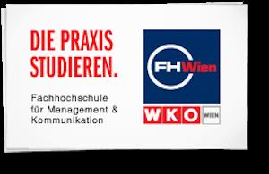 Logo der FHWien der WKW