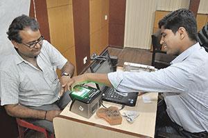 Massenregistrierung: Aadhaar in Indien