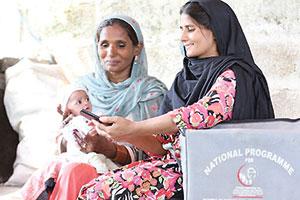 Mobile Geburtsregistrierung in Pakistan und Myanmar