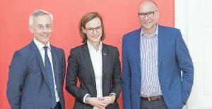 Michael Wancata, Mariana Kühnel und Gerald Hanisch (v.l.n.r.)