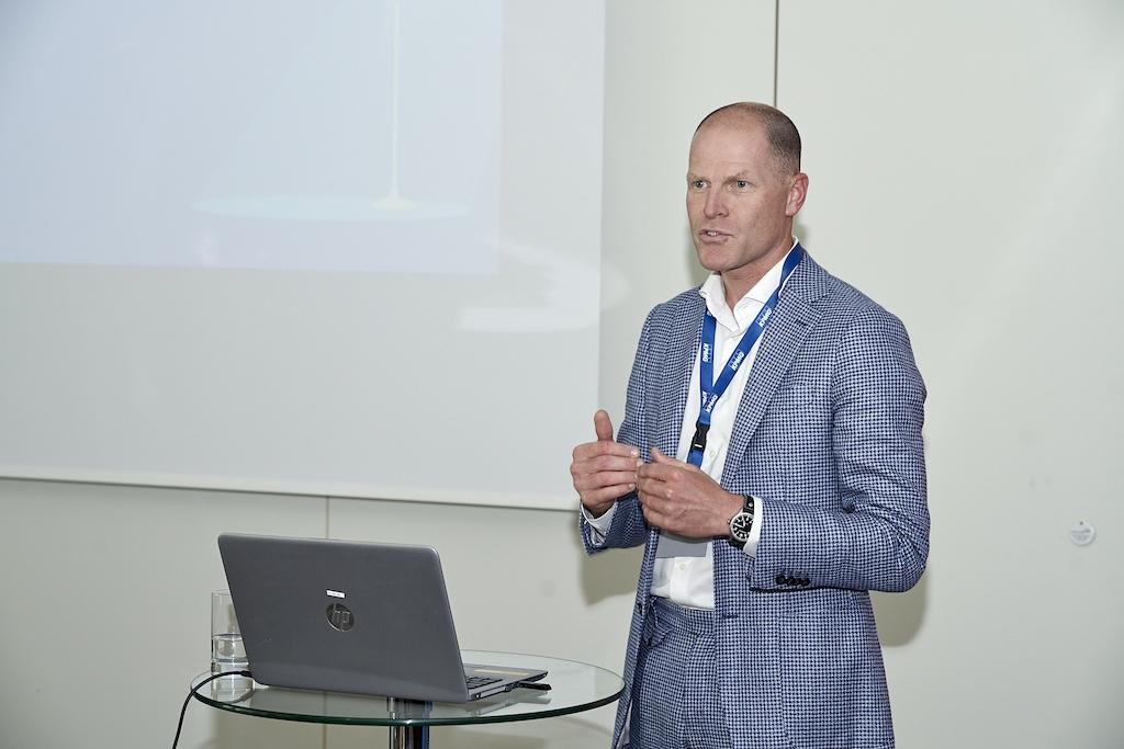 Keynote von Arnoud Walrecht, KPMG beim corporAID Multilogue: The Wider Circle am 12. September 2019 in Wien