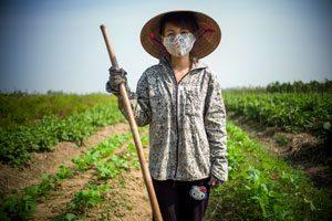 Farmarbeiterin