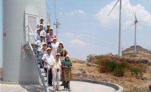 Doppelter Nutzen: Dieses Windkraftwerk im indischen Maharashtra produziert – wie tausende andere CDM-Projekte auch – CO2-Minderungseinheiten.