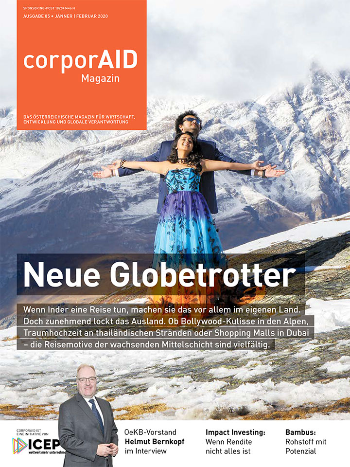 corporAID Magazin 85