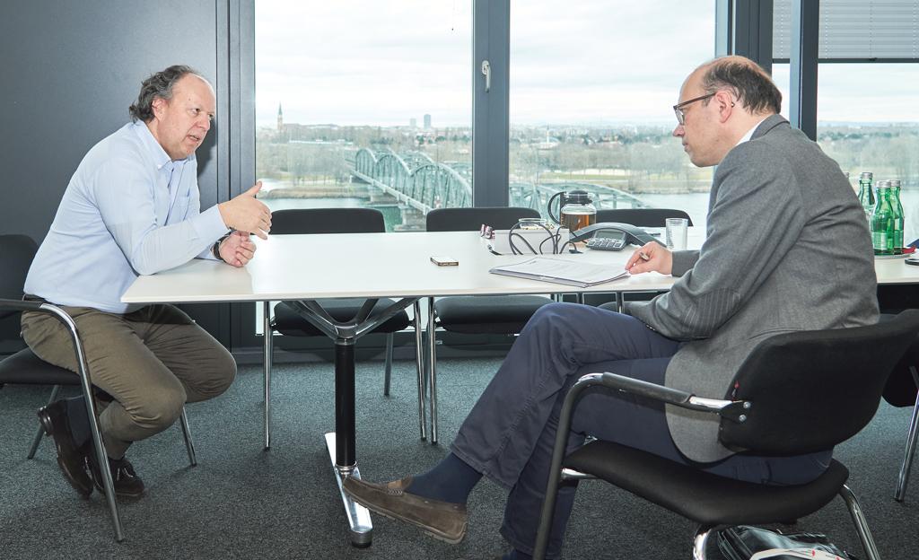 Alexander Baumgartner im Gespräch mit Bernhard Weber