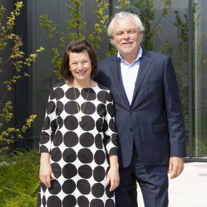 Das Gründerpaar Marietta Ulrich-Horn und Werner Horn