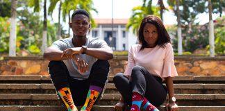 Afrisocks aus Ghana sprechen eine internationale Kundschaft an.