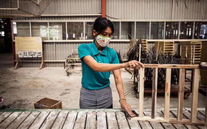 Lieferkette_Holzfabrik in Vietnam