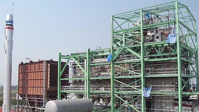 Biomassekraftwerk in Thailand