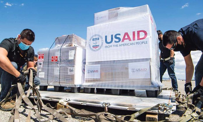 The USA are increasingly relying on development aid
