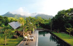 Sustainable hotels, solar systems