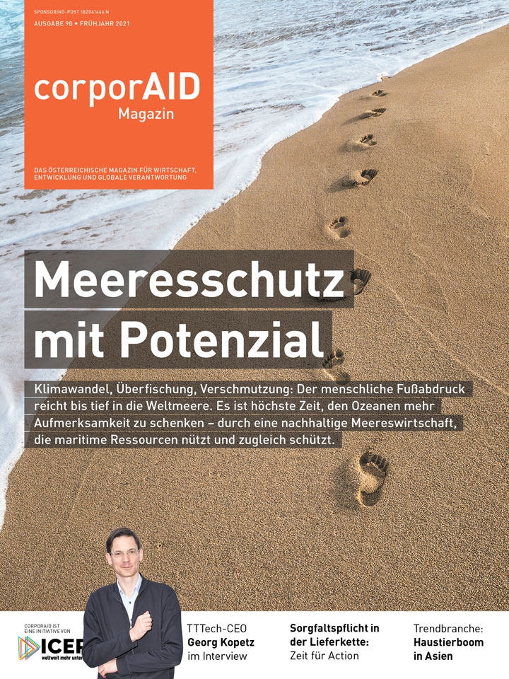 Cover corporAID issue 90