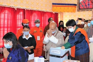 Covid-Impfung in Bhutan