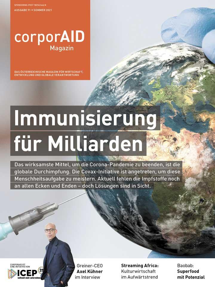 corporAID magazine issue 91