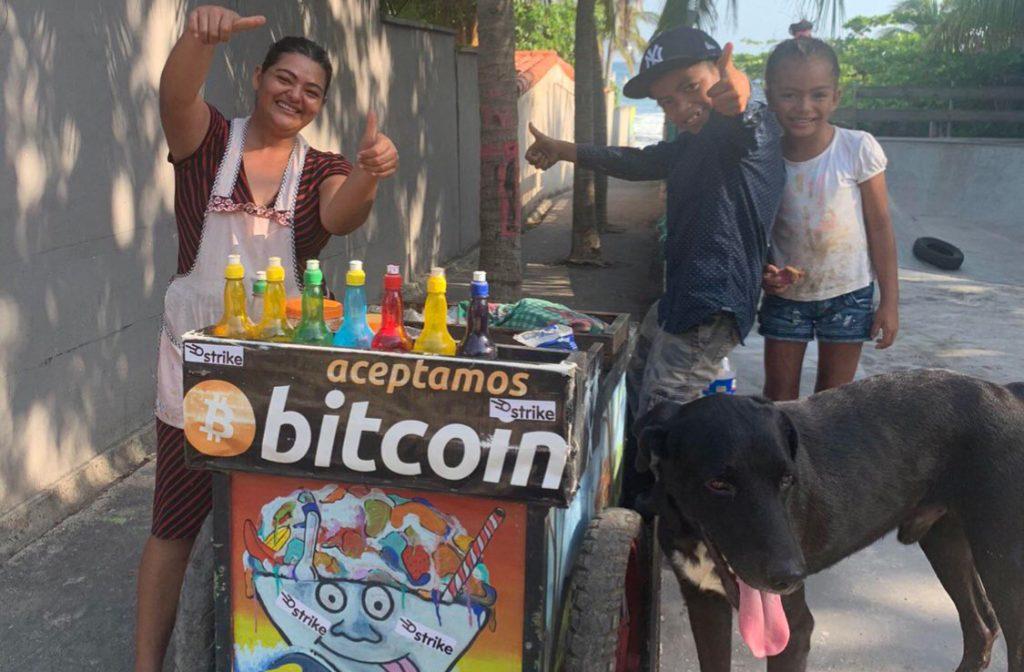 Blockchain prevails in El Salvador.
