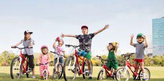 Woom Kinderräder in verschiedenen Größen